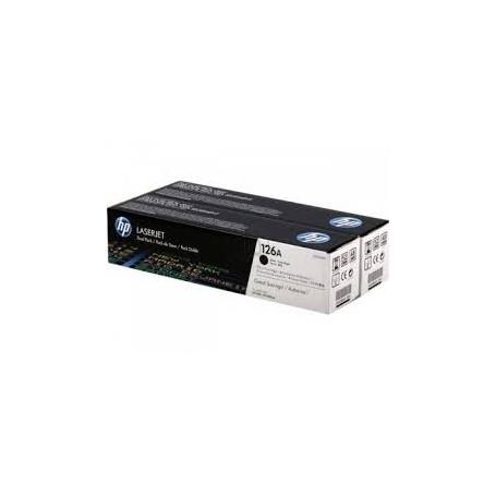 LASER HP CP1025 126A TONER BK X2