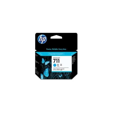 HP N 711 INK CIANO X3