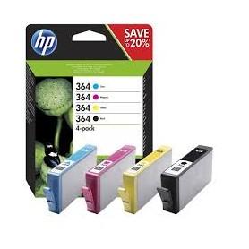 HP 364 BK + 364 COL KIT HP PHOTOSMART 55