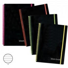 BLOCCHISPRIRAL MEMOTAK BK BOOK A5L80FF1R