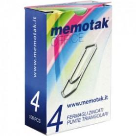 FERMAGLI ANTIRUGGINE MEMOTAK N.4 10 PZ