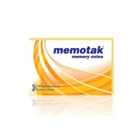BLOCCHI MEMOTAK 75X50 12PZ