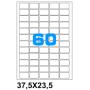 ETICHETTE ADES. FOGLIO SINGOLO 37,5X23,5