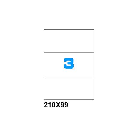 ETICHETTE SU A4 210X99 100PZ