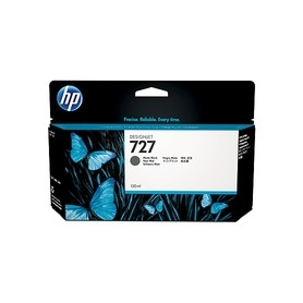 HP CART N.727 INK NERO OPACO 130 ML