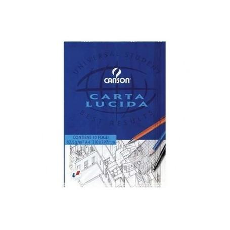 BLOCCHI CARTA LUCIDA CANSON 21X29 25PZ