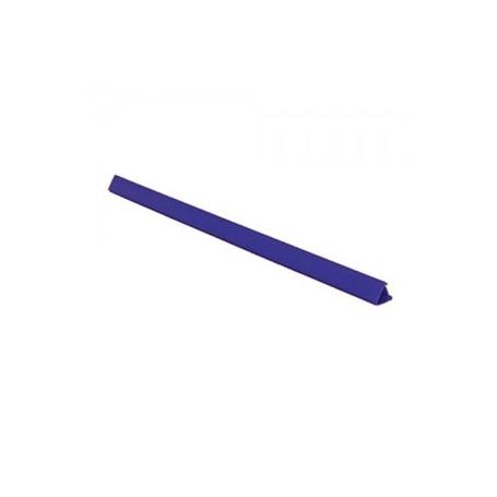 DORSETTI PLASTICI CM29,7/4 BLU 100PZ