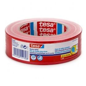 NASTRO ADESIVO TELATO 38X25 ROSSO TESA