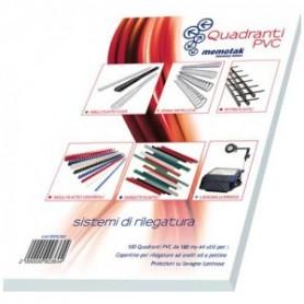COPERTINE PVC MEMOTAK A4 150M NEUT 100P