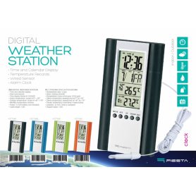 DIGITAL WEATHER STATION LCD WIRED