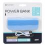 POWER BANK ( IN PELLE BLU ) 2600MAH BLU