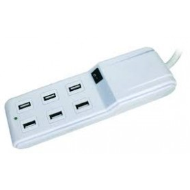 CHARGER FAMILY 6 PORTE USB 4,5 A