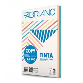 CARTA COPY TINTA TN GR.160 A4 100FF ASS