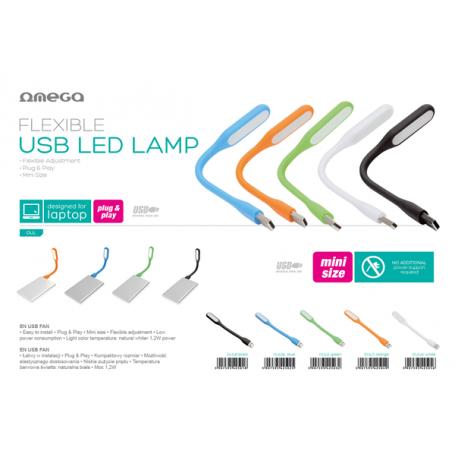 OMEGA LAMPADA LED USB GREEN