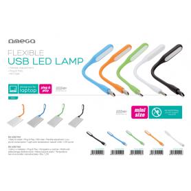 OMEGA LAMPADA LED USB BLU