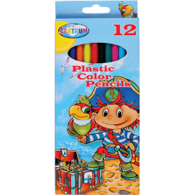 PASTELLI 12 COL PIRATE  PAPER BOX
