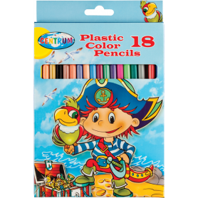 PASTELLI 18 COL PIRATE PAPER BOX
