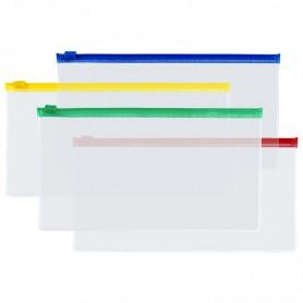 ZIPPER BAG SMALL 22.5X12.5CM IN PVC