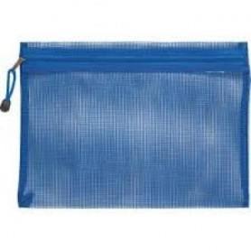 ZIPPER BAG A4 COL. ASSORTITI IN PVC