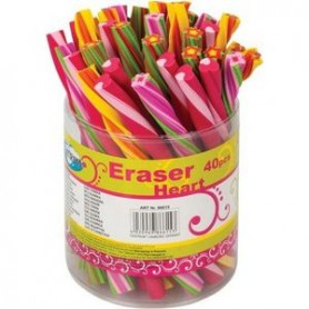 GOMME X CANCELLARE STICK  FLOWER&HEART