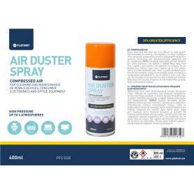 AIR DUSTER SPRAY ARIA COMPRESSA 400ML