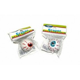 "ERASER SYNTHETIC RUBBER ""EYE"" ASSORTED"