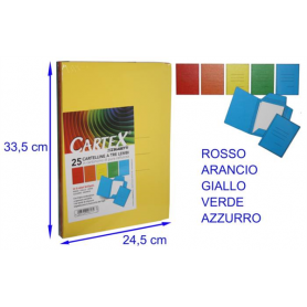 CAR. CARTEX 3L ROSSO SPESSORE VARIABILE