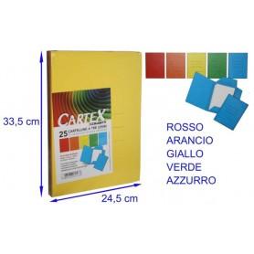 CAR.CARTEX 3L GIALL. SPESSORE VARIABILE