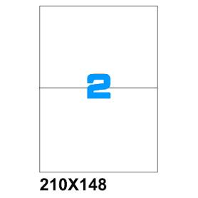 ETICHETTE SU A4  210X148 100PZ