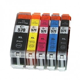 CANON 570 BKXL MG5750/5752/6850/7753 COM