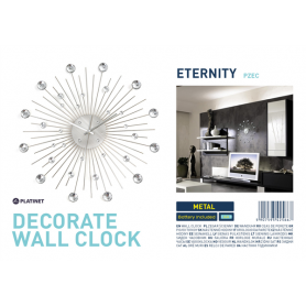 PLATINET ZEGAR ETERNITY WALL CLOCK