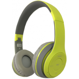FREESTYLE HEADSET BLUETOOTH GREEN/GREY