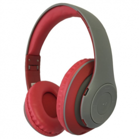 FREESTYLE HEADSET BLUETOOTH GREY/RED