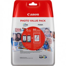 CAN 545XL+546XL + CARTA FOTO 10X15