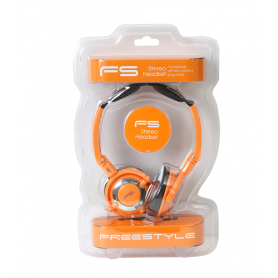 FREESTYLE CUFFIE +MIC ABC-PS022 ORANGE