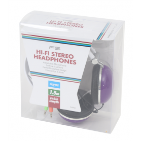 FREESTYLE HEADSET ABC-PS09 PURPLE EOL