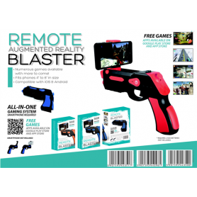 OMEGA REMOTE AUGMENTED REALITY GUN BKBL