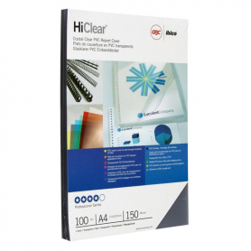 COPERTINE PVC 150 MICRON 100PZ  GBC