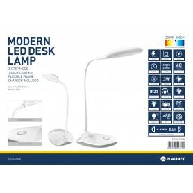 DESK LAMP 3W FLEXIBILE FRAME