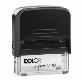 COLOP PRINTER C 40 BASE TRASP. 129579