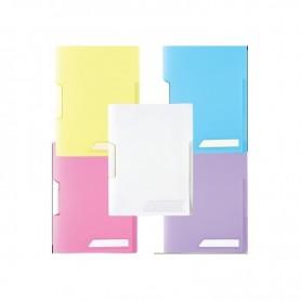 CLIP FILE A4 PASTEL 0.40MM W/SWING CLIP