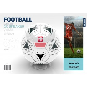 PLATINET SPEAKER BLUETOOTH FOOTBALL FLAG