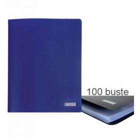 PORTA LISTINI MEMOTAK BASIC 100 BUSTE BL