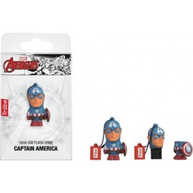 USB 16GB MAR CAPITAN AMERICA