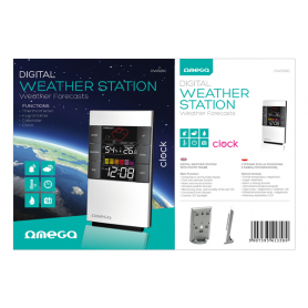 OMEGA DIGITAL WEATHER STATION OWS26C HIG