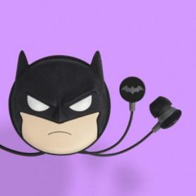 EARPHONES BAGGY WD DC BATMAN