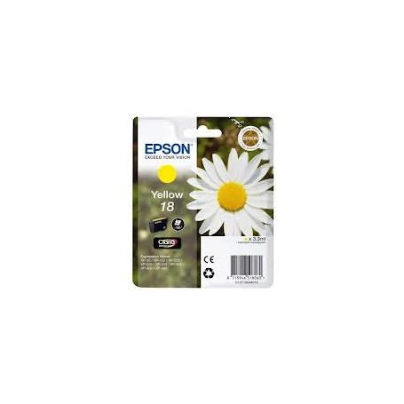 EPSON N.18 GIALLO INK JET  XP30