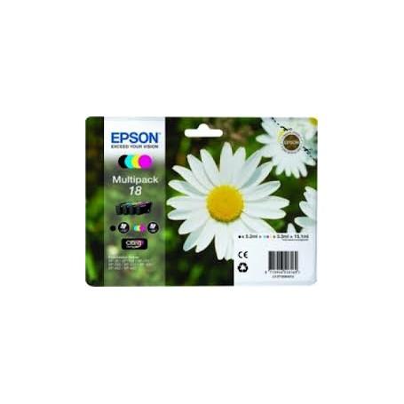 EPSON N.18 KIT NERO/C/M/GIALLO INK JET