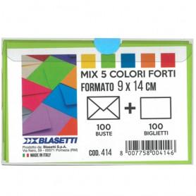 BIGL/BUSTE 100/100 COLORI FORTI 90X140