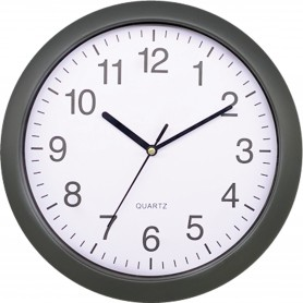 PLATINET WALL CLOCK RAINBOW GRAY